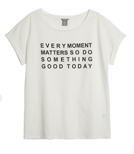 I thought this t-shirt summed up my mood. (Photo: Lindex)